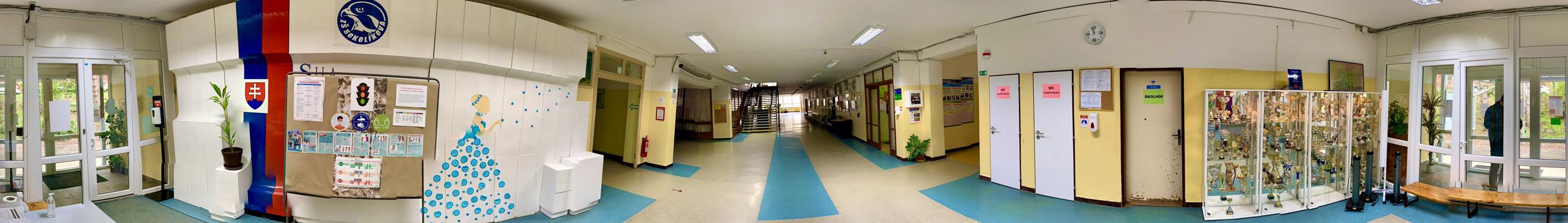 Vstup do školy